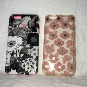 Two iPhone 6 Plus cases
